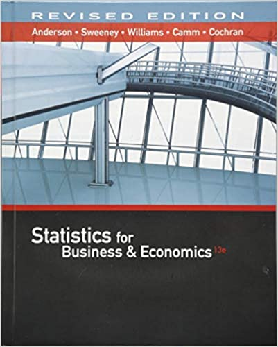 Statistics for Business & Economics Revised (with XLSTAT Education Edition Printed Access Card)
