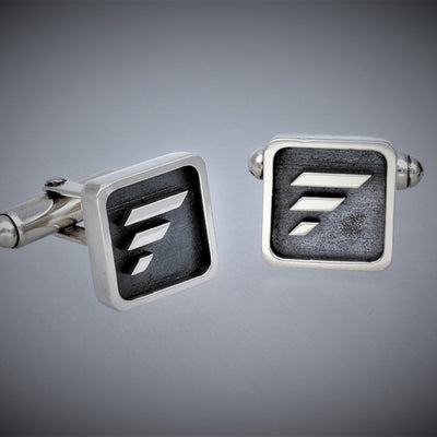Silver Cuff Links FUS Logo