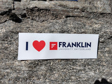 "Load image into Gallery viewer, ""I love Franklin"" Sticker"