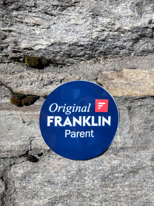 """Original Franklin Parent"" Sticker"