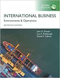 International Business plus Pearson MyLab Management with Pearson eText