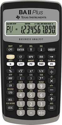 Calculator TI BA II Plus