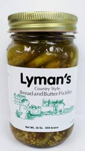 Lyman's: Bread & Butter Pickles