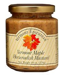 VT Epicurean: VT Maple Horseradish Mustard