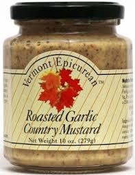 VT Epicurean: Roasted Garlic Country Mustard