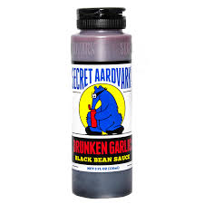 Secret Aardvark - Drunken Garlic Black Bean Sauce