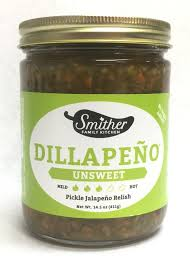 Smither's - Dillapeno Unsweet Relish