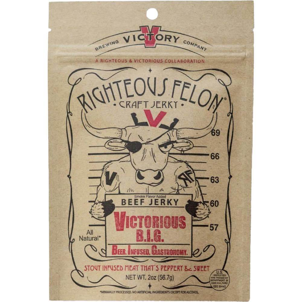 Righteous Felon - Victorious B.I.G ( Beer-infused-Gastronomy)
