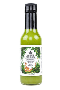 Queen Majesty - Jalapeno Tequila Lime Hot Sauce