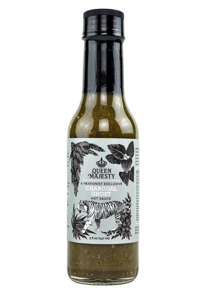 Queen Majesty - Charcoal Ghost Hot Sauce