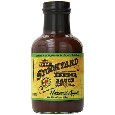 American Stockyard BBQ sauce - Harvest Apple