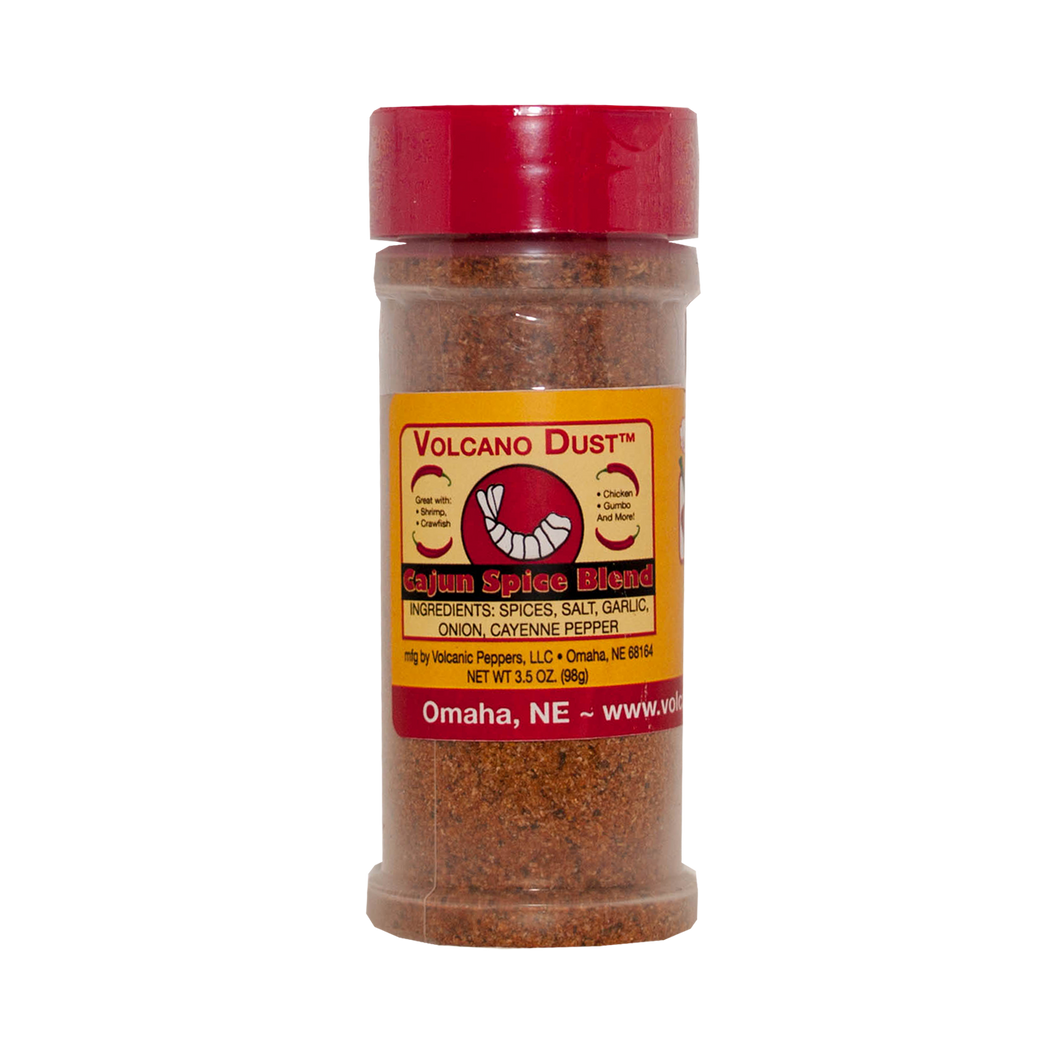 Volcanic Peppers - Volcano Dust, Cajun Spice Blend