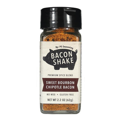 Bacon Shake by PS Seasoning - Sweet Bourbon Chipotle Bacon