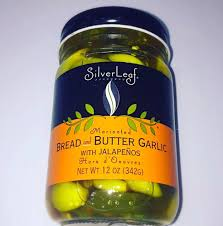 SilverLeaf - Bread and Butter Garlic with Jalapenos