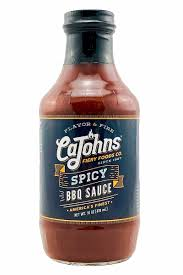 CaJohn's - Spicy BBQ Sauce