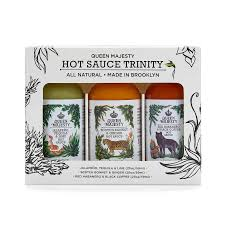 The Queen Majesty Hot Sauce Trinity