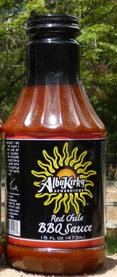 AlubKirky - Red Chile BBQ Sauce