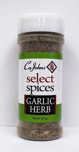 CaJohn's - Garlic Herb Seasoning