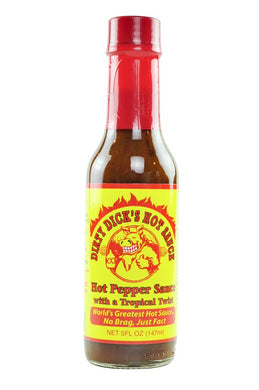 Dirty Dick's - Hot Pepper Sauce w/Tropical Twist