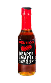Benito's - Reaper Infused Maple Syrup