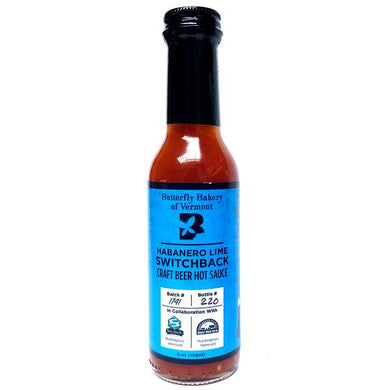 Butterfly Bakery - Habanero Lime Switchback Hot Sauce