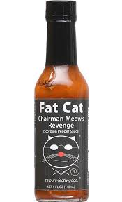 Fat Cat - Chairman Meow's Revenge Scorpion Pepper Hot Sauce