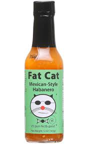 Fat Cat - Mexican Style Hot Sauce