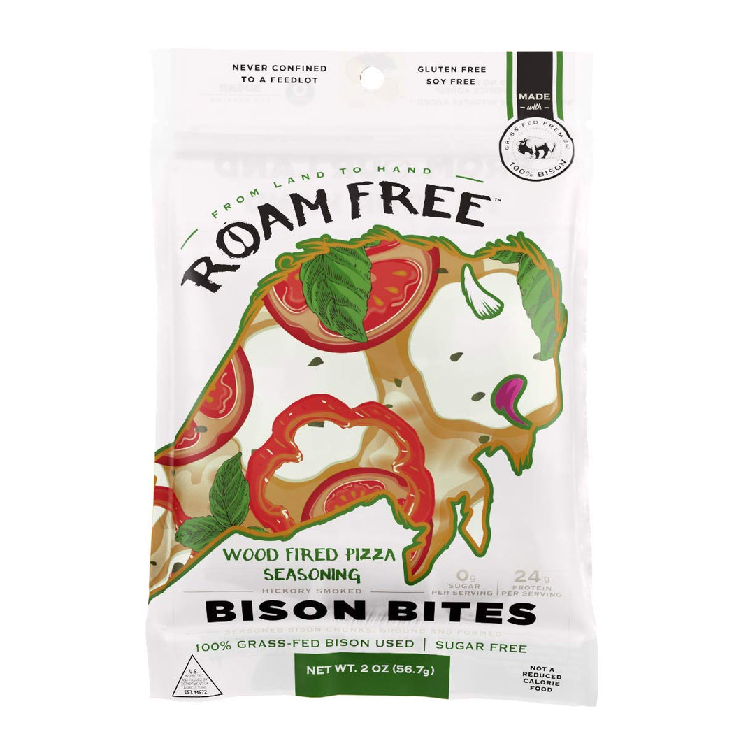 Go Roam Free- Wood Fired Pizza Bison Bites