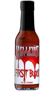 Hellfire's - First Blood Hot Sauce