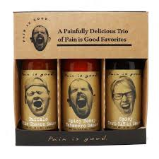 Pain is Good - Wing Sauce Gift Set