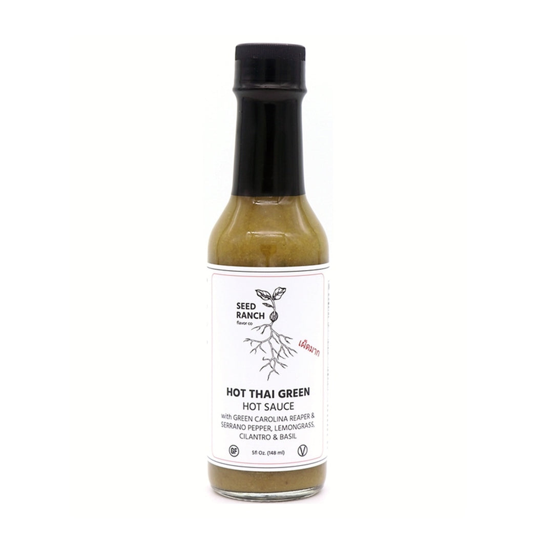 Seed Ranch - Hot Thai Green Hot Sauce