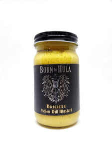 Born To Hula - Biergarten Yellow Dill Mustard