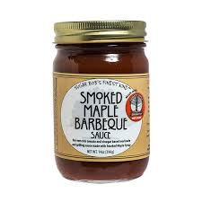 Vermont Maple Sriracha- Smoked Maple BBQ Sauce