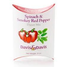 Davis & Davis- Spinach & Smokey Red Pepper