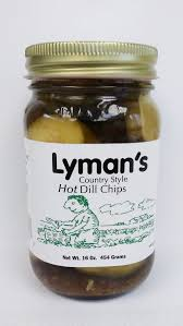 Lyman's: Hot Dill Chips