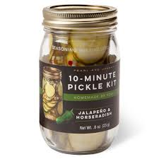 Pearl and Johnny- Jalapeno & Horseradish 10-Minute Pickle Kit