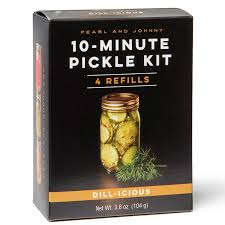 Pearl and Johnny- Dill-icious Pickle Kit Refill