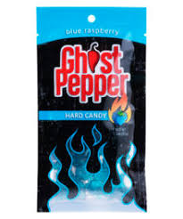 FlameThrower Candy Company- Ghost Pepper Candy Blue Raspberry