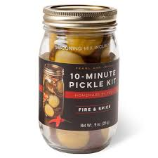 Pearl and Johnny- Fire & Spice 10-Minute Pickle Kit