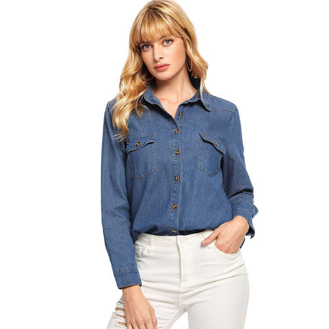 Women's Denim Tops