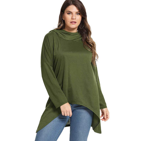 Women's Plus Size Hoodies & Sweatshirts