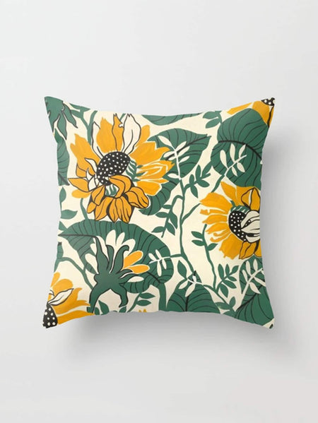Print Square Pillowcase Cover