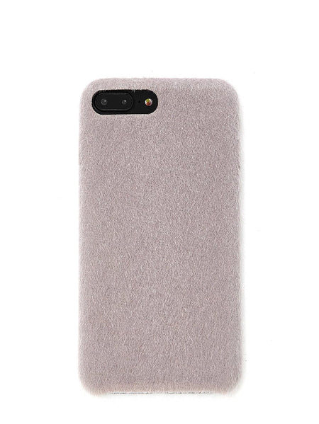 Faux Fur Overlay iPhone Case