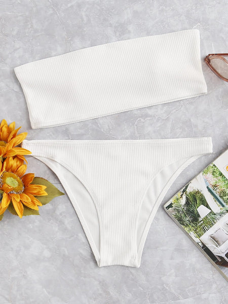 Bandeau Mix and Match Bikini Set