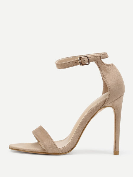 Peep Toe Ankle Strap Pumps