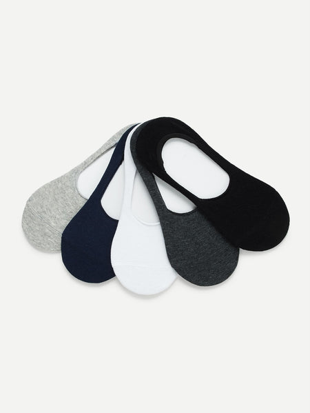 Plain Invisible Socks 5pairs