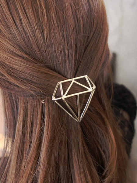 Diamond Shaped Hair Clip