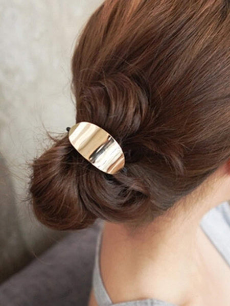 Metal Decorated Hair Tie