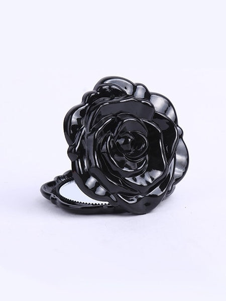 Rose Shaped Fold Mirror