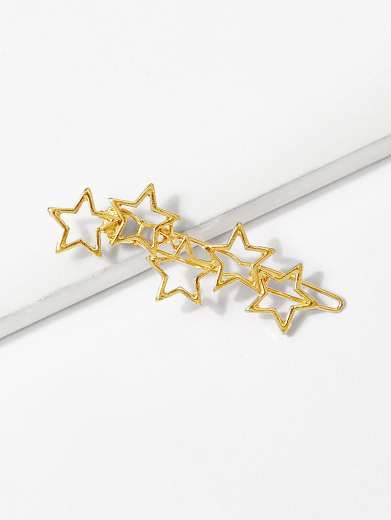 Hollow Out Star Hair Clip